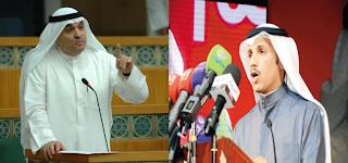 نقاش حاد بين مرزوق الغانم ومحمد الصقر 5-4-2012