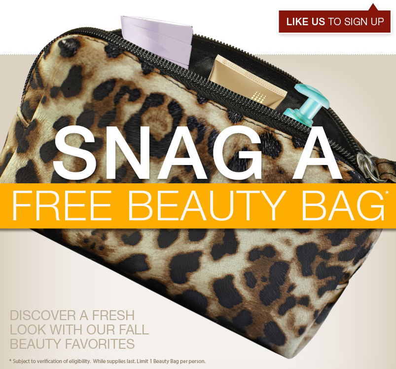 Hurry Over To The Target Sample Site Get Fall Free Beauty Bag This Is An Awesome Freebie A Very Nice Makeup Stuffed With Good Sized