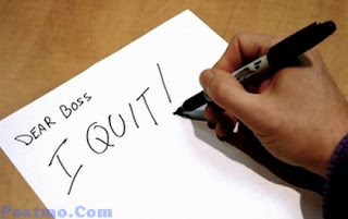 Alasan Berhenti Dari Sebuah Pekerjaan