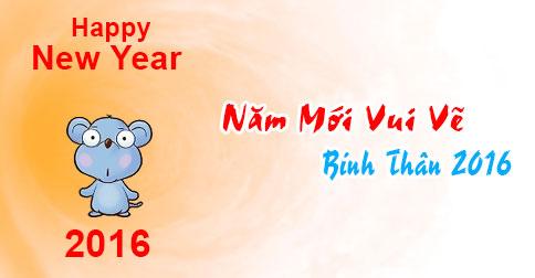 Ảnh chúc năm mới vui vẻ dễ thương nhất 2016 - ảnh 10