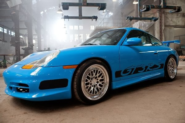 Porsche GT3 RS Scene ~ Fast and Furious 5 ysis