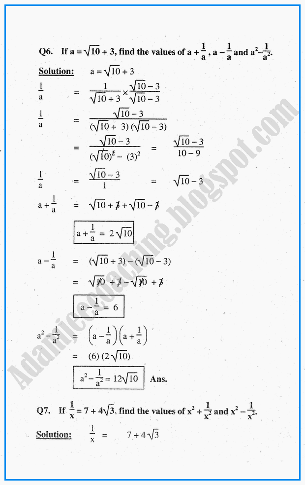exercise-2-8-system-of-real-numbers-exponents-and-radicals-mathematics-notes-for-class-10th