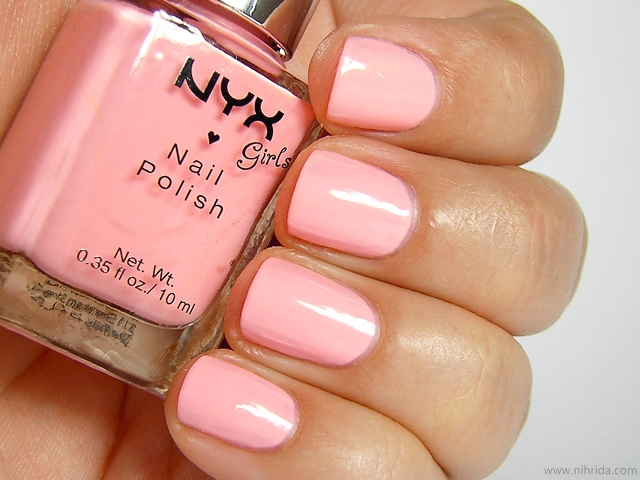 NYX Girls Nail Polish in Naked Pink