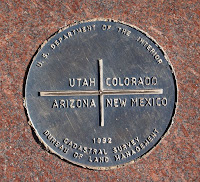 marker at four corners