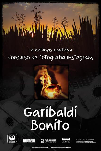 Concurso de Fotografía tipo Instagram sobre la Plaza de Garibaldi