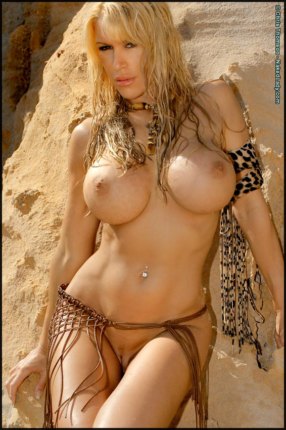 Tania Amazon on Beach