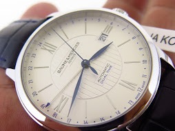 BAUME n MERCIER DUAL TIME- AUTOMATIC ETA 2893-2