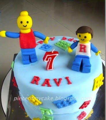 Cake Images Ravi : Piece of My Cake: Lego Men for Ravi
