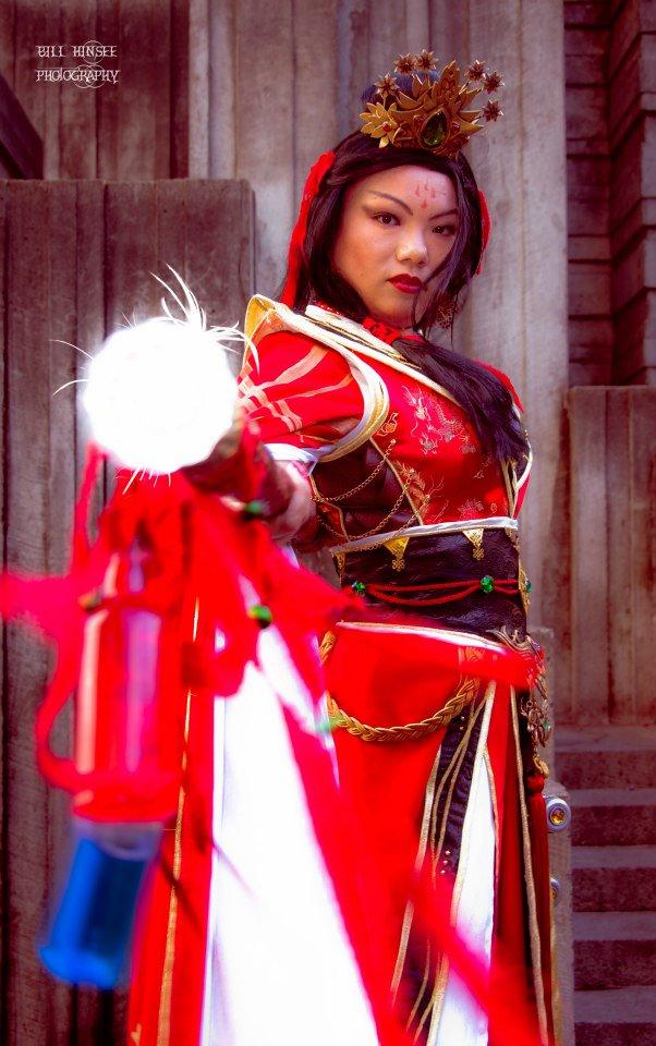 Seattle Cosplay Diablo 3 Wizard Li Ming The