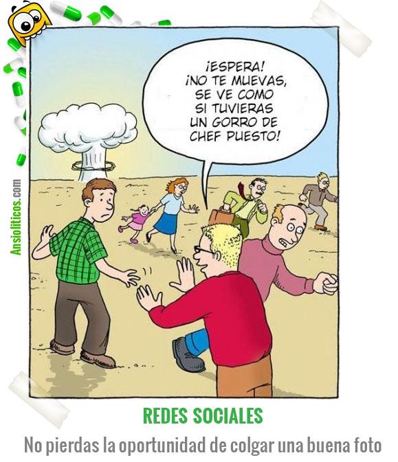 Chiste de Redes Sociales: Fotografías