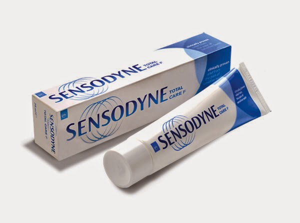 Sensodyne toothpaste free sample