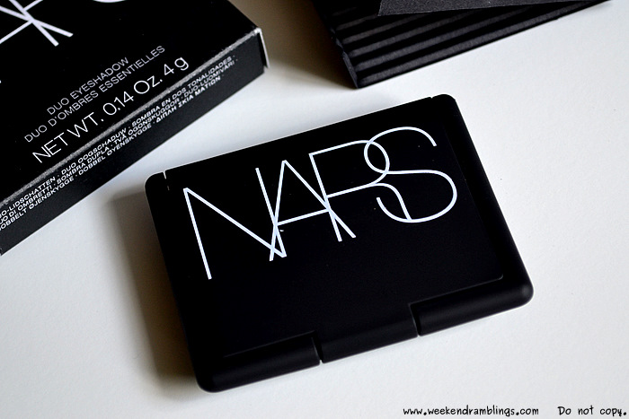 NARS Eyeshadow Duo Marie Galante Summer Makeup 2012 Beauty Blog Swatches Reviews Ingredients FOTD Looks EOTD