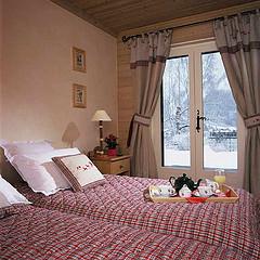 Schlafzimmer im landhausstil einrichten bilder und ideen - Alpenstil deko ...
