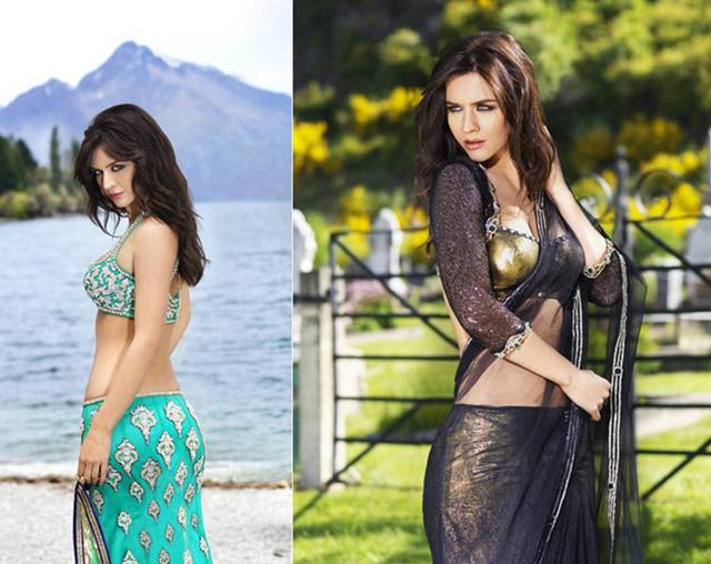"Italian beauty Maria Sokolovski is the face of a famous Indian fashion brand name "" Seasons"" these are some of her unforgetable photo shoots that she has done."