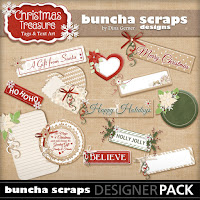 Christmas Treasure Tags & Text