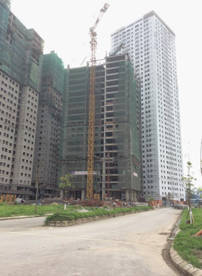 Ảnh tiến độ dự án ngày 10-4-2014