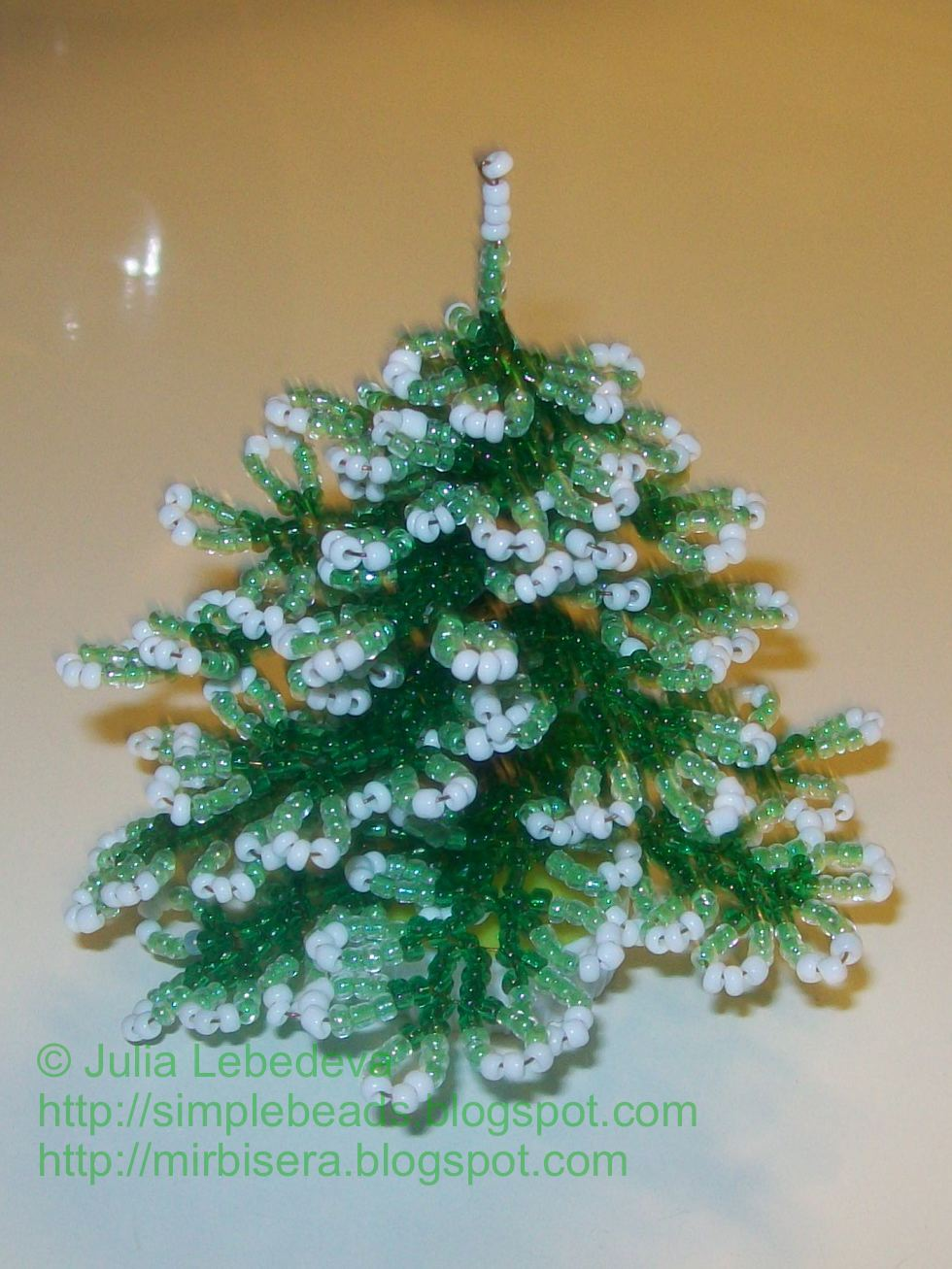 Beading For The Very Beginners Christmas Tree