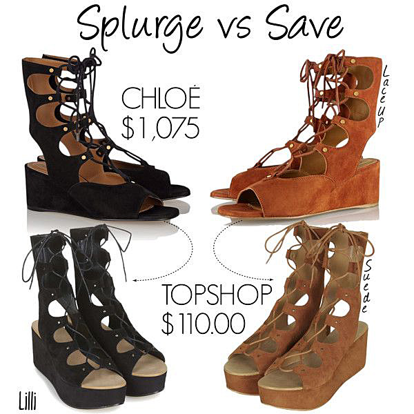 Splurge vs Save