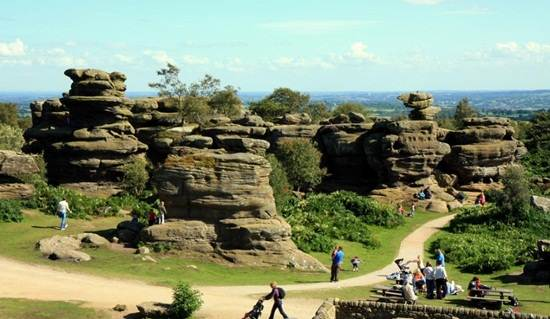 Brimham-Rocks-North-Yorkshire-England