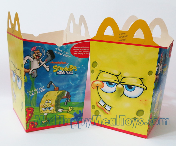 Happy meal toys collection fan site spongebob squarepants for Happy playsets