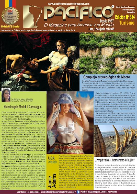 Revista Pacifico Nº 384 Turismo