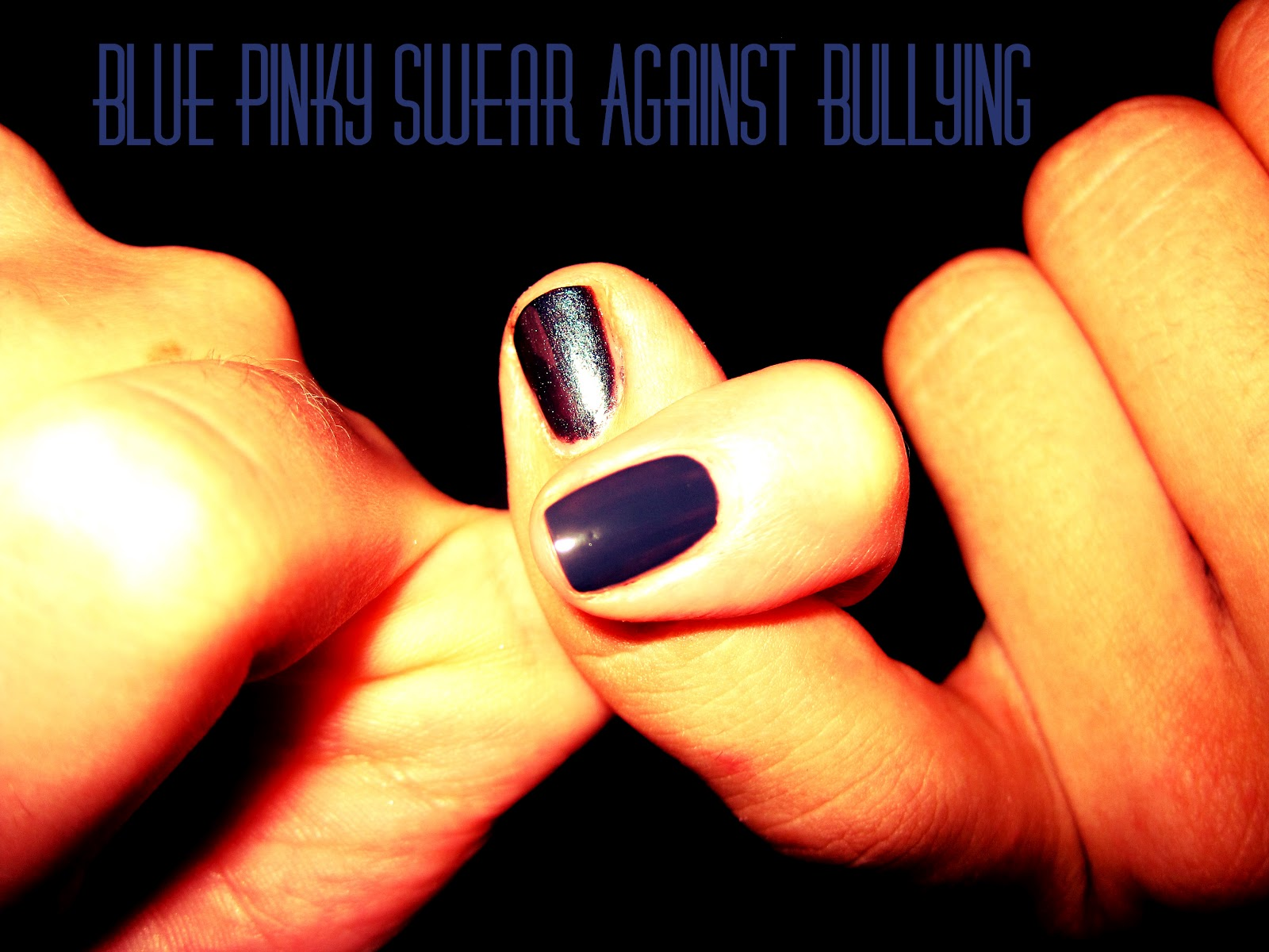 The Treasure Chest: Blue Pinky Swear Against Bullying Campaign