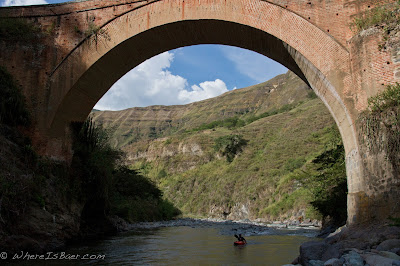 our take out bridge, Chris Baer, colombia, junambu