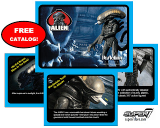 "Super 7 3.75"" Kenner Alien ReAction Figures - Free Catalog"