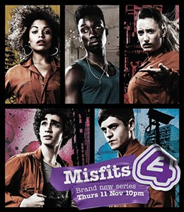 misfits Download   Misfits 1, 2, 3 Temporadas Completas   RMVB Legendado