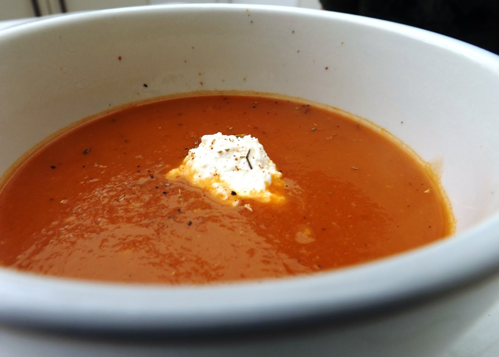 Celle qui cuisinait ou le plaisir de cuisiner soupe aux 3 - Cuisiner les poivrons ...