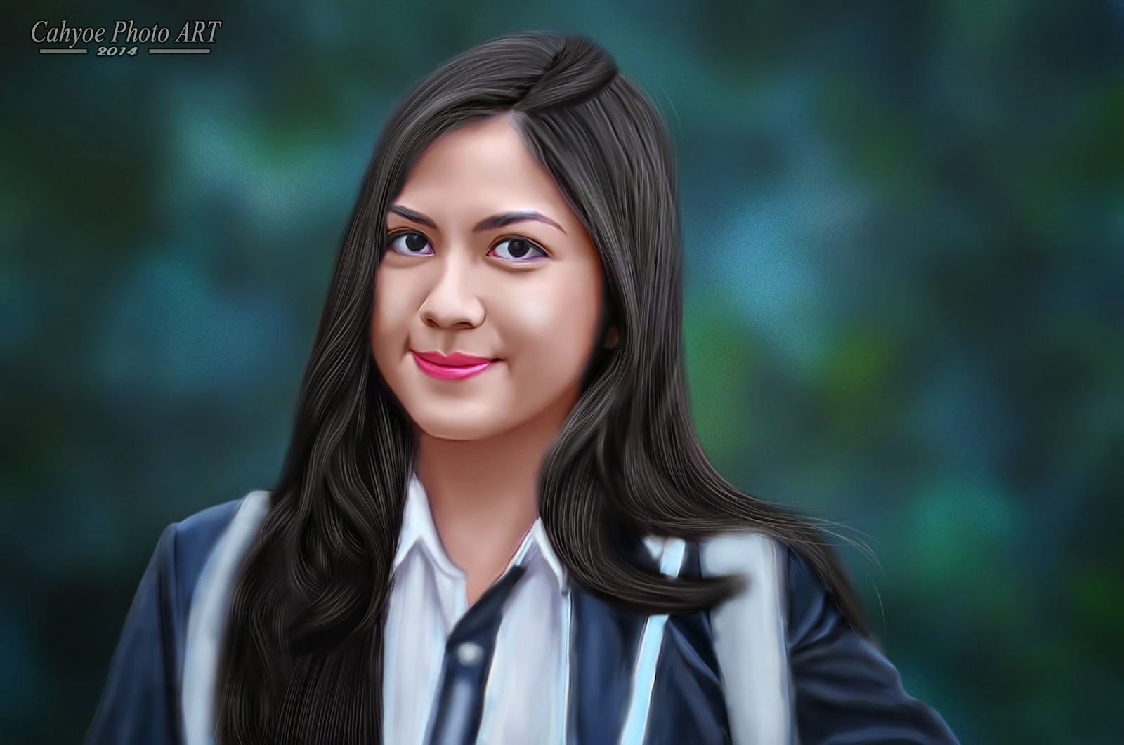 Cahyoe Blog: Tutorial Smudge Painting Photoshop