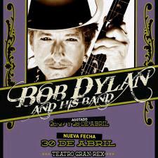 Bob Dylan en Bilbao el 11 de julio