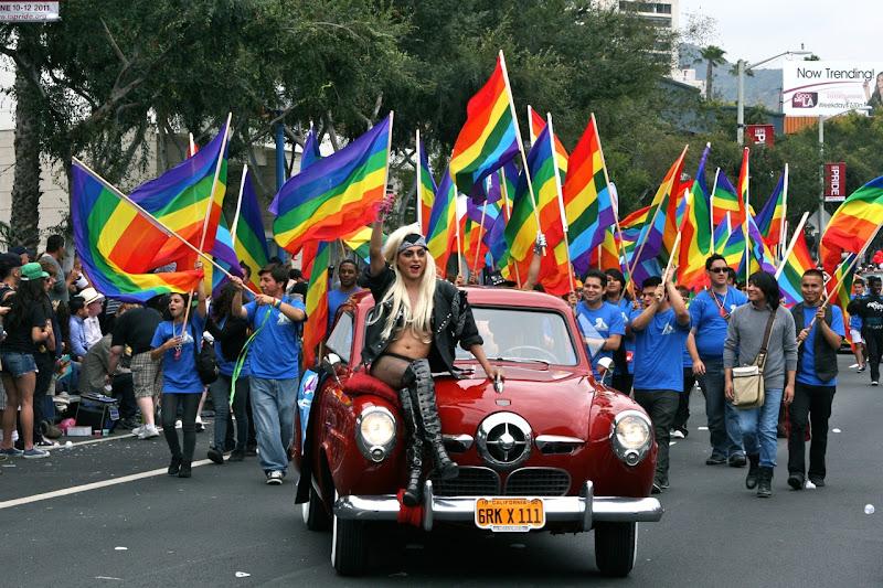 Gaga WEHO Gay Pride monsters