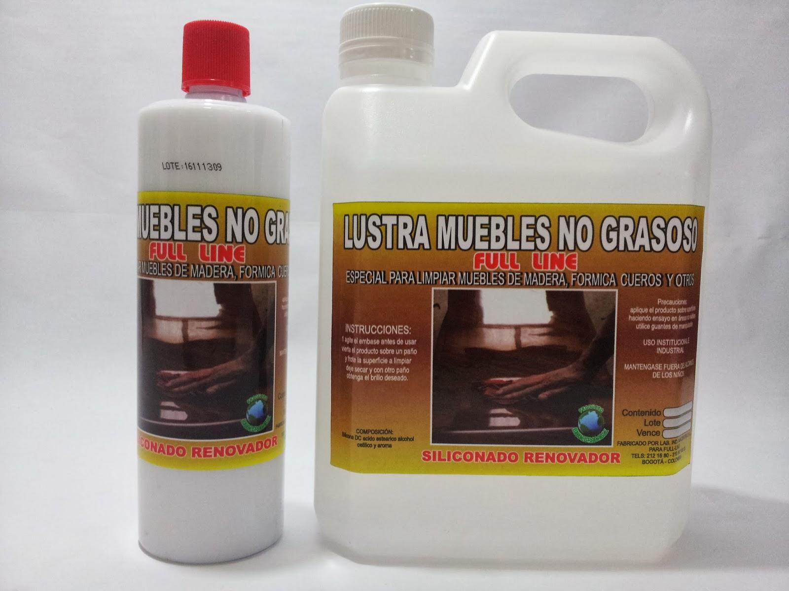 Cera autobrillante selladores y shampoo varsol l nea - Productos para limpiar madera ...