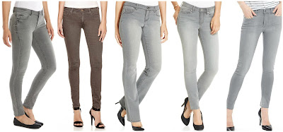 LC Lauren Conrad Jeggings $36.99 (regular $50.00)   MNG by Mango Jeggings $39.99 (regular $60.00)  Style&co Rhinestone Pocket Bootcut Leg Jeans $40.99 (regular $54.00)  Jessica Simpson Kiss Me Super Skinny Jeans $59.00  Banana Republic Gray Skinny Ankle Jean $89.50 check the website for a daily online code to save more