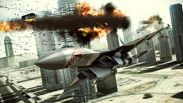 Ace Combat Assault Horizon screenshot 2
