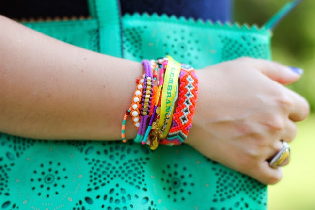 hipanema colorful bracelet