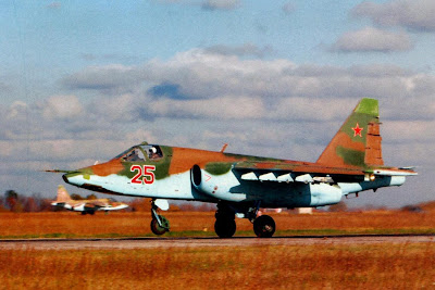 На исполнительном старте Су-25