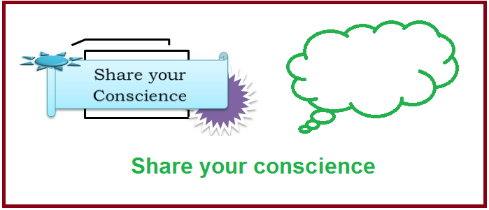 Share your conscience