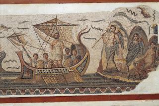 Ulises y las sirenas - Museo Nacional del Bardo - Túnez