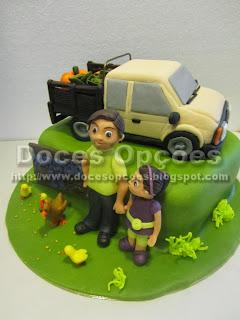 bolo carrinha bragança