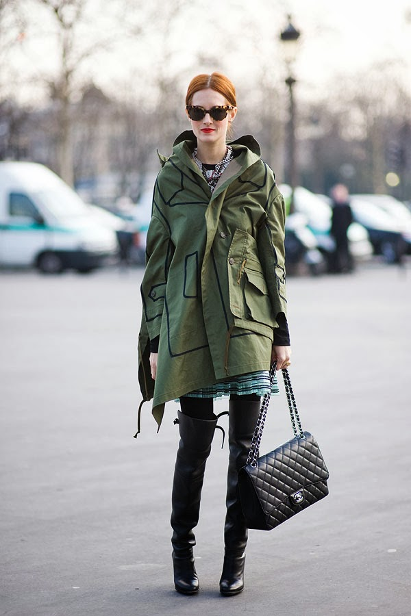How to style a winter parka