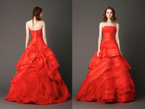 vera wang 2013 spring bridal collection
