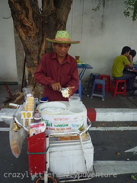 Coconut Ice Cream, Bangkok, Thailand