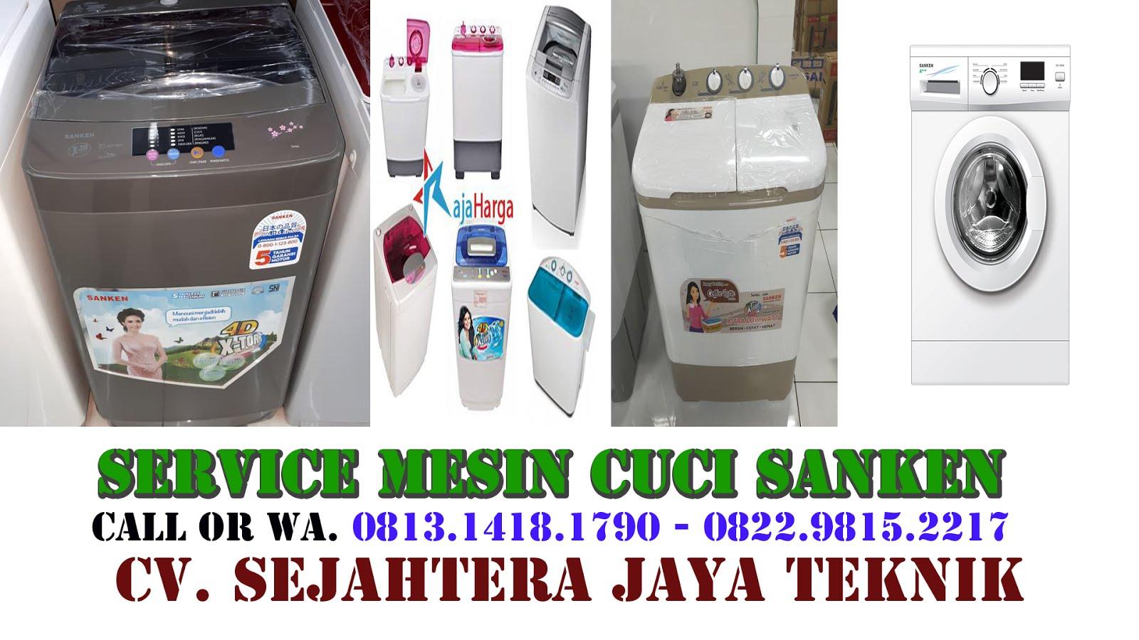 Service Mesin Cuci Sanken di Jakarta Selatan