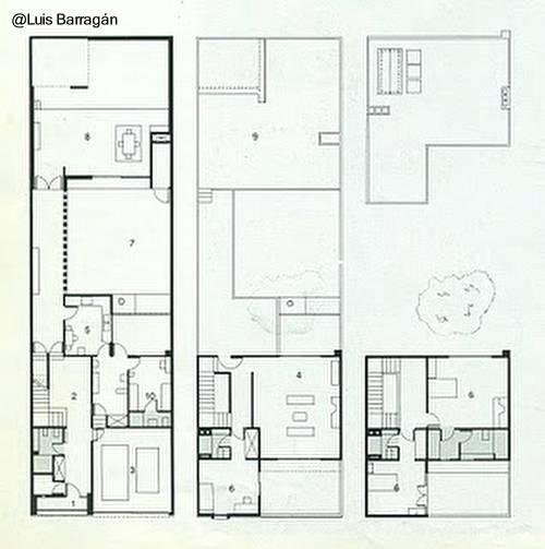 planos de casas urbanas modernas