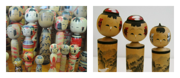 Kimmidoll muñecas kokeshi