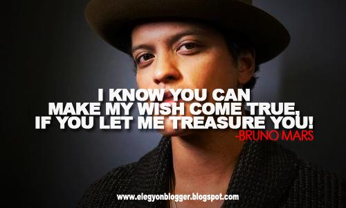 Terjemahan Lirik Lagu Treasure by : Bruno Mars