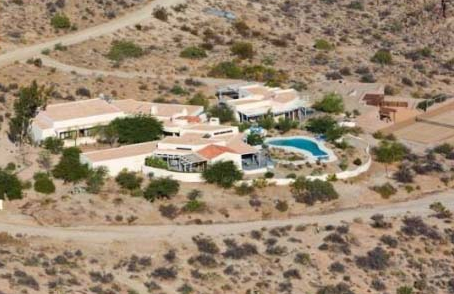 overhead view of patricia gucci california mansion house property