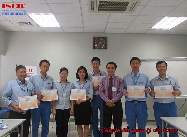 khóa học quản lý cấp trung tại Nikkiso Việt Nam tháng 6